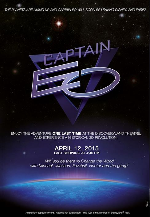 Captain EO closure